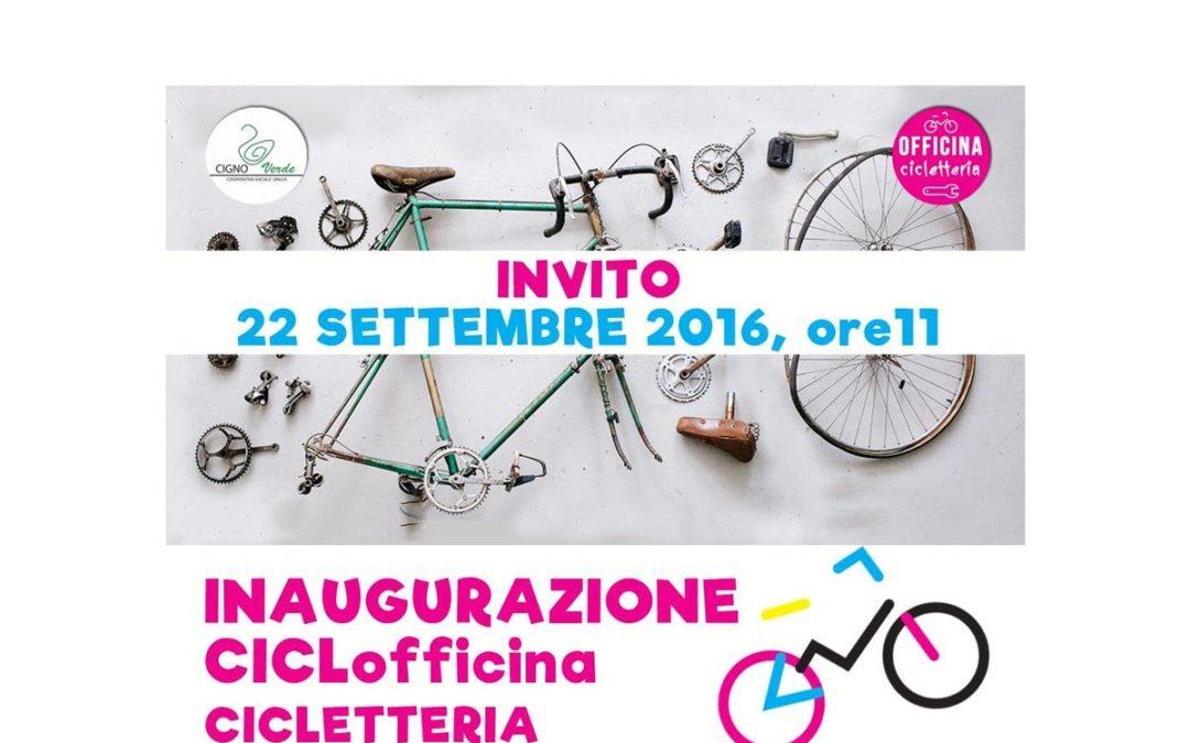Inaugurazione Officina Bici in Cicletteria