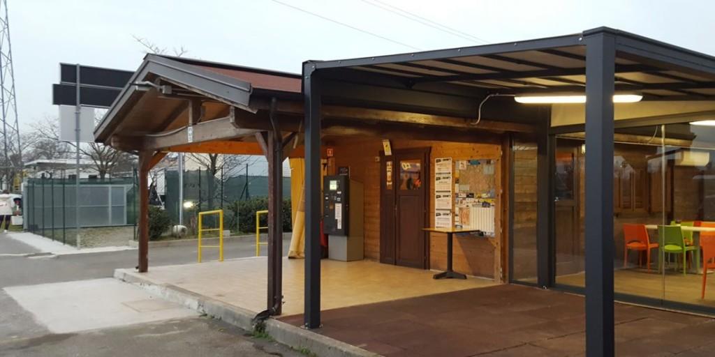 Inaugurazione del nuovo spazio ristoro all'Area Sosta Camper