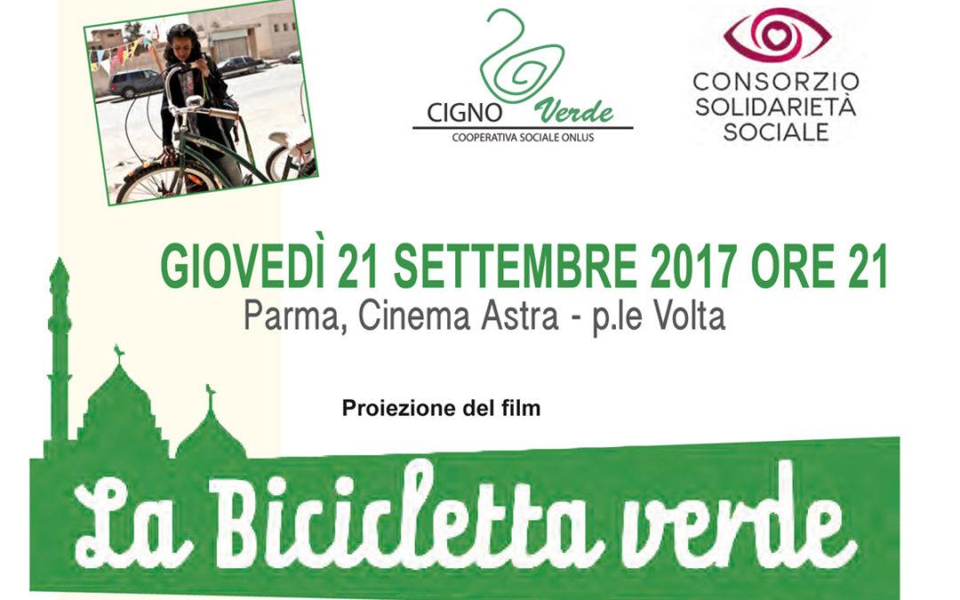 """""""La Bicicletta Verde"""" al Cinema ASTRA di Parma"""