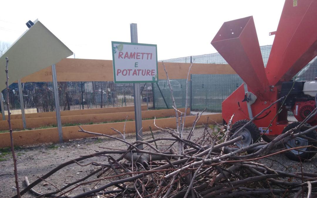 1° piazzola di compostaggio agli Orti sociali