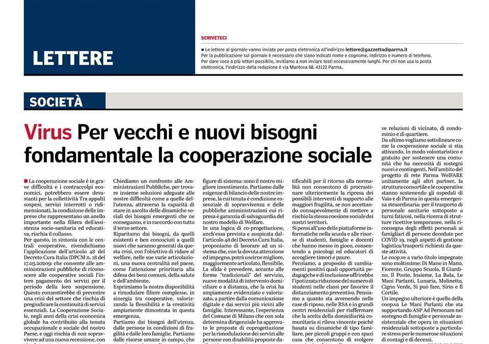 """Comunicato CSS: """"Per vecchi e nuovi bisogni è fondamentale la cooperazione sociale"""""""