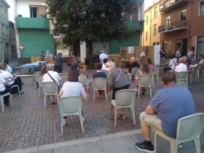 Inaugurate le panche nella piazzetta del Sambòt: l'evento e la photogallery