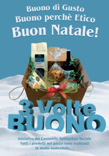 3VolteBuono: non solo un pacco di Natale