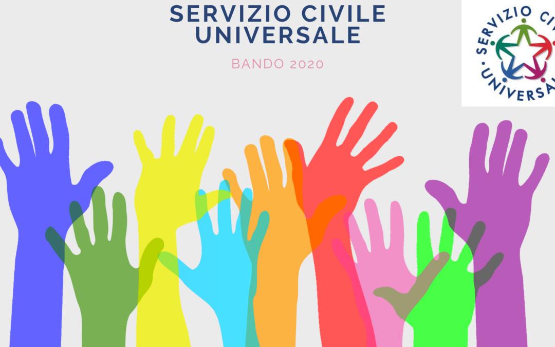 Servizio Civile Universale: info sul bando 2020