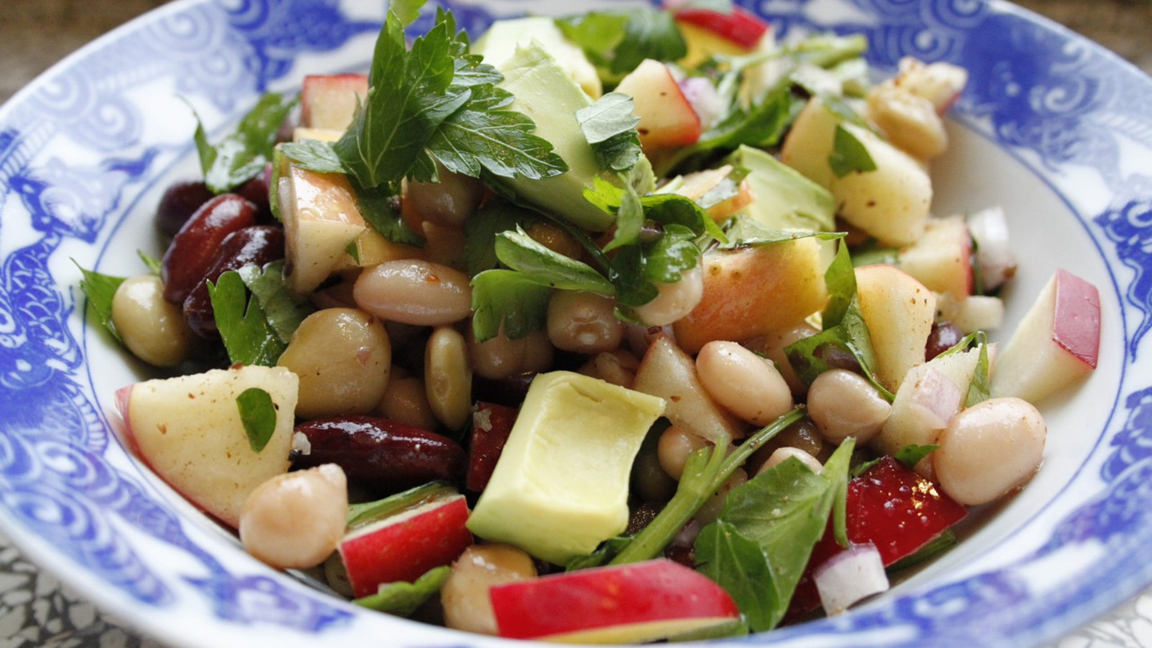 Le ricette di Nativa: insalata di fagioli freschi