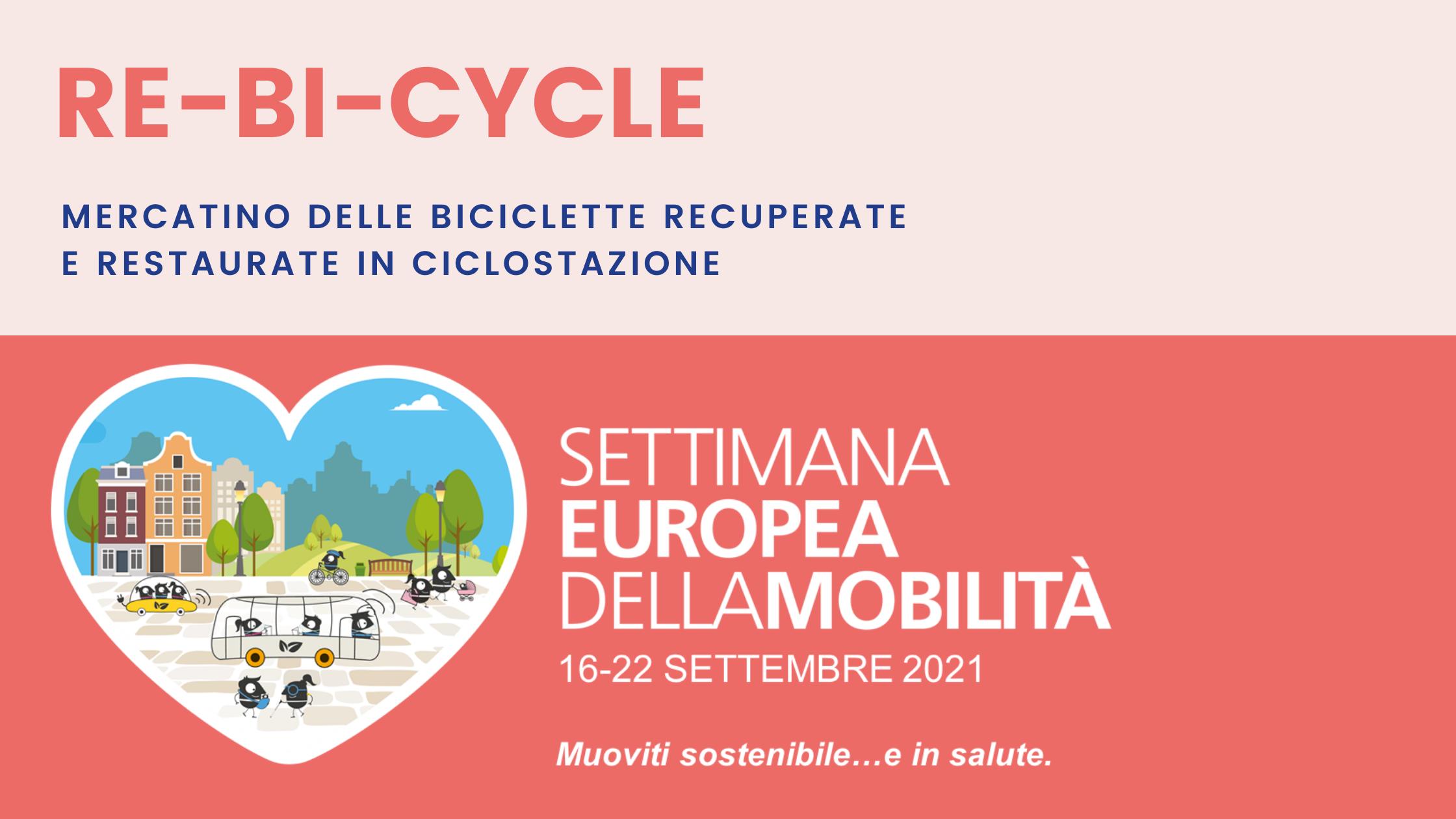 RE-BI-CYCLE: il mercatino delle bici restaurate e recuperate